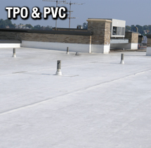 PVC and TPO Roof System