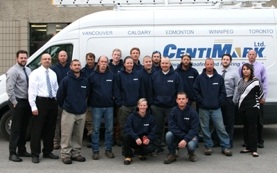 CentiMark, roofing Company Serving Calgary, Alberta