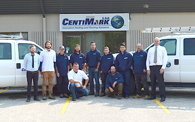 CentiMark, roofing Company Serving Winnipeg, Manitoba