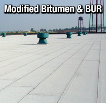 BUR and Mod Bit Roofing Systems for Commercial Use