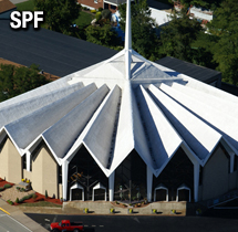 Sprayed Polyurethane Foam Commercial Roofing System